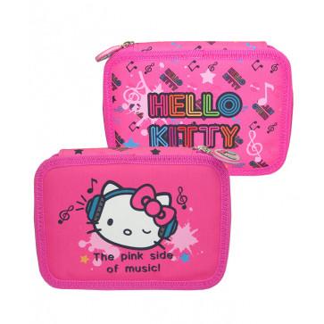 Penar neechipat, 2 fermoare, HELLO KITTY the pink side of music