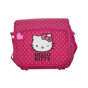 Geanta de umar, dreptunghiulara, roz, PIGNA Hello Kitty
