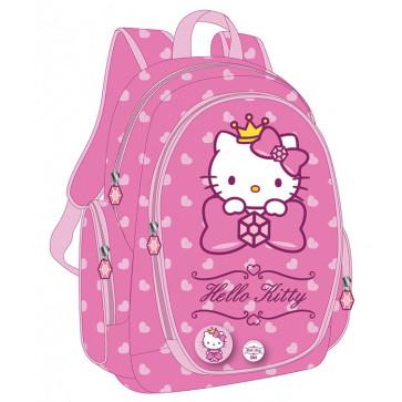 Ghiozdan, clasele 1-4, roz deschis, PIGNA Hello Kitty
