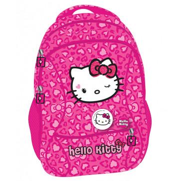 Ghiozdan, clasele 1-4, roz, PIGNA Hello Kitty