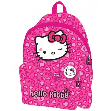 Ghiozdan, gradinita, simplu, roz, PIGNA Hello Kitty