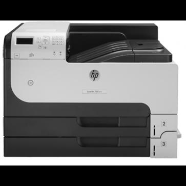 Imprimanta laser monocrom HP LaserJet Enterprise 700 M712dn, A3, retea, duplex