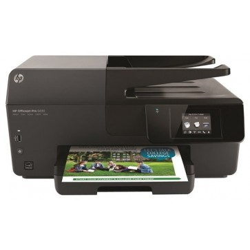Multifunctional inkjet color HP Officejet Pro 6830, A4, USB, Retea, Wi-Fi, RJ-11