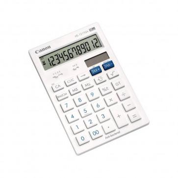 Calculator de birou, antibacterial, 12 digiti, alb, CANON HS-121TGA