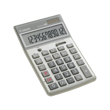 Calculator de birou, 12 digiti, CANON HS-20TG