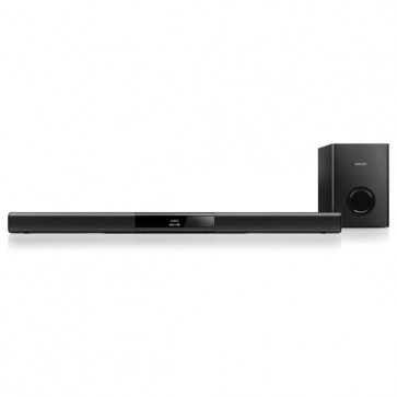 Soundbar 2.1, 120W, Bluetooth, USB, PHILIPS HTL2163B/12
