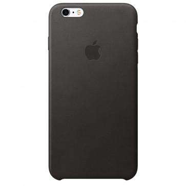 Husa de protectie APPLE pentru iPhone 6s, Piele, Black