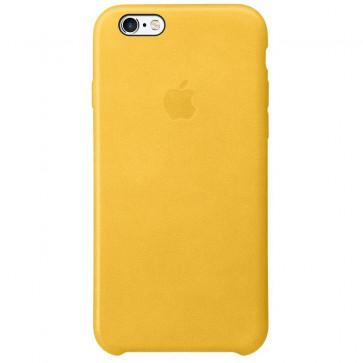Husa de protectie APPLE pentru iPhone 6s, Piele, Marigold