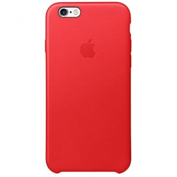 Husa de protectie APPLE pentru iPhone 6s, Piele, Red