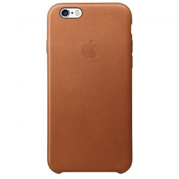 Husa de protectie APPLE pentru iPhone 6s, Piele, Saddle Brown