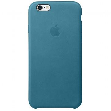 Husa de protectie APPLE pentru iPhone 6s plus, Piele, Albastru deschis
