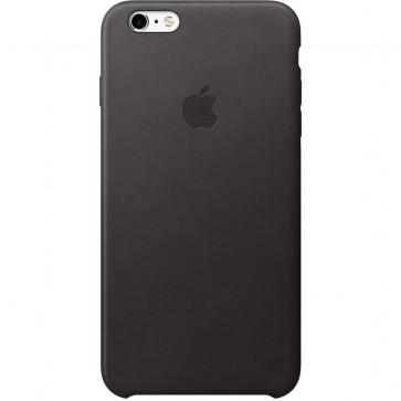Husa de protectie APPLE pentru iPhone 6s Plus, Piele, Black