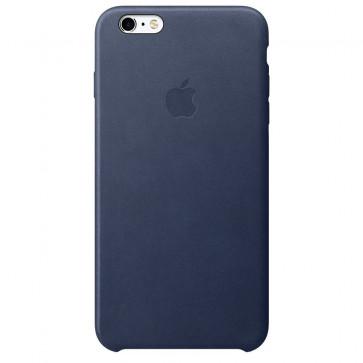 Husa de protectie APPLE pentru iPhone 6s Plus, Piele, Midnight Blue