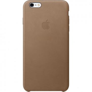 Husa de protectie Apple pentru iPhone 6s Plus, Piele, Brown