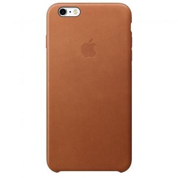 Husa de protectie APPLE pentru iPhone 6s Plus, Piele, Saddle Brown