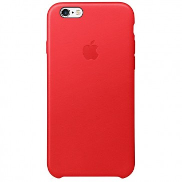 Husa de protectie APPLE pentru iPhone 6s Plus, Piele, Red