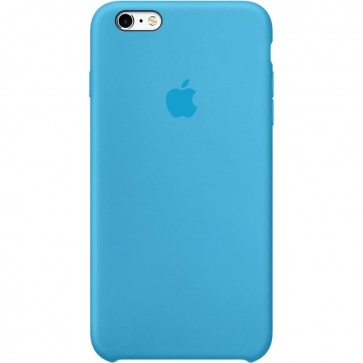 Husa de protectie APPLE pentru iPhone 6s Plus, Silicon, Blue
