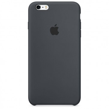 Husa de protectie APPLE pentru iPhone 6s Plus, Silicon, Charcoal Gray