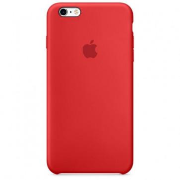 Husa de protectie APPLE pentru iPhone 6s Plus, Silicon, Rosu
