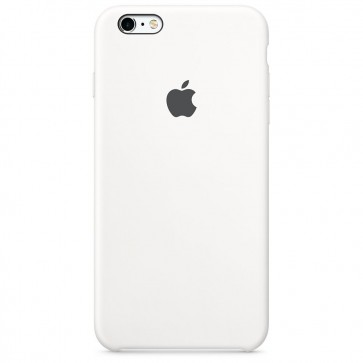 Husa de protectie APPLE pentru iPhone 6s Plus, Silicon, White