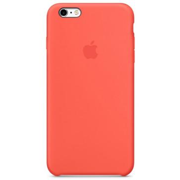 Husa de protectie APPLE pentru iPhone 6s, Silicon, Apricot