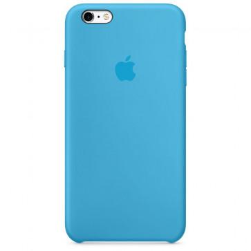 Husa de protectie APPLE pentru iPhone 6s, Silicon, Blue