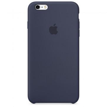 Husa de protectie APPLE pentru iPhone 6s, Silicon, Midnight Blue