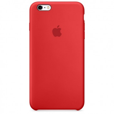 Husa de protectie APPLE pentru iPhone 6s, Silicon, Red