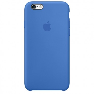 Husa de protectie APPLE pentru iPhone 6s, Silicon, Royal Blue