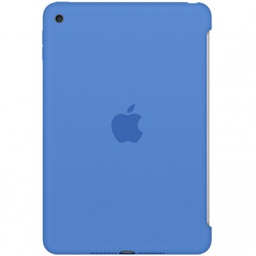 Husa APPLE Silicone Case pentru iPad mini 4, Royal Blue