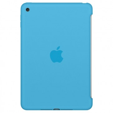Husa APPLE Silicone Case pentru iPad Mini 4, Blue