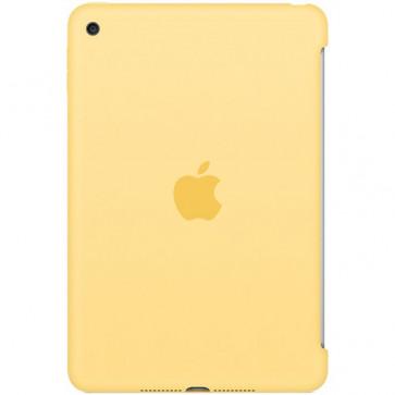 Husa APPLE Silicone Case pentru iPad mini 4, Yellow