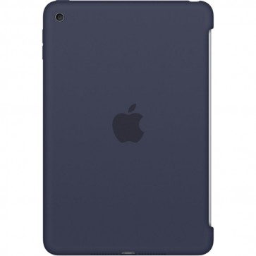 Husa APPLE Silicone Case pentru iPad Mini 4, Midnight Blue
