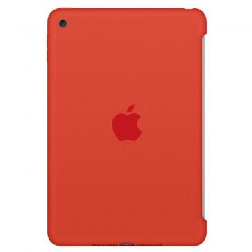 Husa APPLE Silicone Case pentru iPad Mini 4, Orange