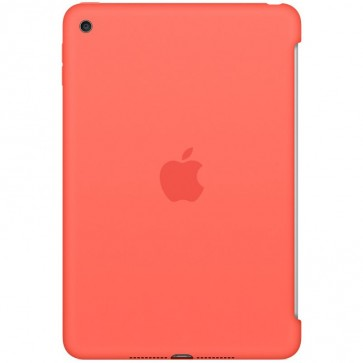 Husa APPLE Silicone Case pentru iPad mini 4, Portocaliu