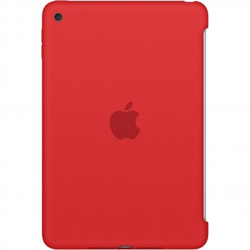 Husa APPLE Silicone Case pentru iPad Mini 4, Red