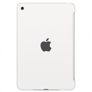 Husa APPLE Silicone Case pentru iPad Mini 4, White