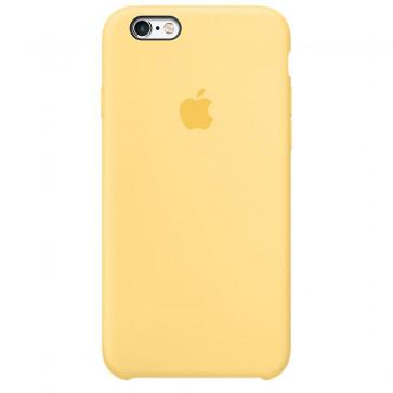 Husa de protectie APPLE pentru iPhone 6s Plus, Silicon, Yellow