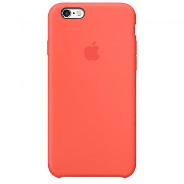 Husa de protectie APPLE Silicone Case pentru iPhone 6s Plus, Apricot