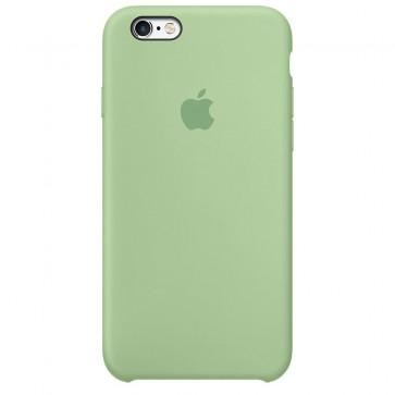 Husa de protectie Apple Silicone Case pentru iPhone 6s, Mint