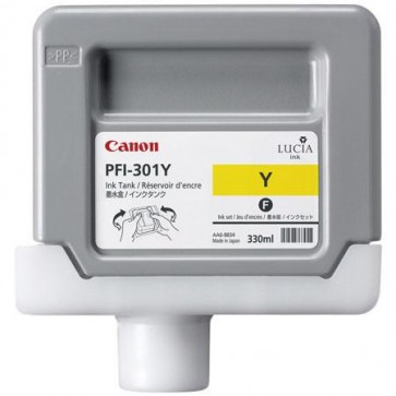 Cartus, yellow, CANON PFI-301Y