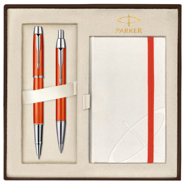 Set PARKER IM Premium Big Red CT - Roller + Pix
