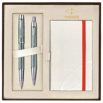 Set PARKER IM Premium Vacumatic Emerald Pearl CT - Roller + Pix