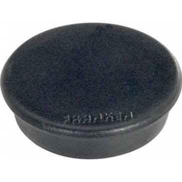 Magnet rotund, negru, 10 buc/set, 13mm, FRANKEN
