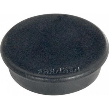 Magnet rotund, negru, 10 buc/set, 24mm, FRANKEN Tacking
