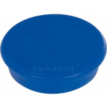 Magnet rotund, albastru, 10 buc/set, 32mm, FRANKEN Tacking