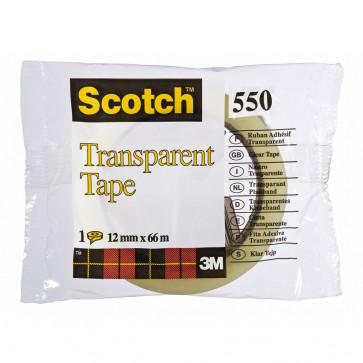 Banda adeziva, 15mm x 66m, SCOTCH 550