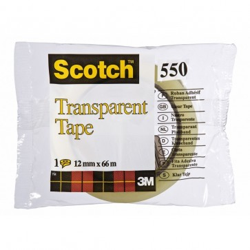 Banda adeziva, 12mm x 33m, SCOTCH 550