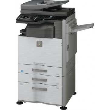 Multifunctional, color, A4/A3, SHARP MX-2614N + MX-DE12 + Set Tonere