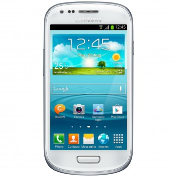 "Smartphone, 4"", 5MP, Wi-Fi, White, SAMSUNG I8200 Galaxy S3 mini Value Edition"